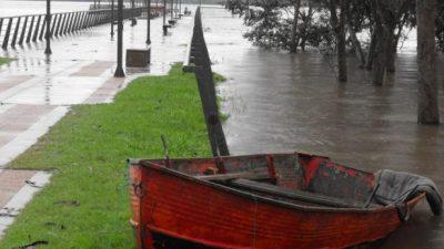 El río Uruguay crece y complica a varias ciudades: ya hay más de 670 evacuados
