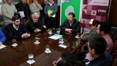 Villarino: el intendente y el gremio municipal acordaron mejoras para 15 becarios