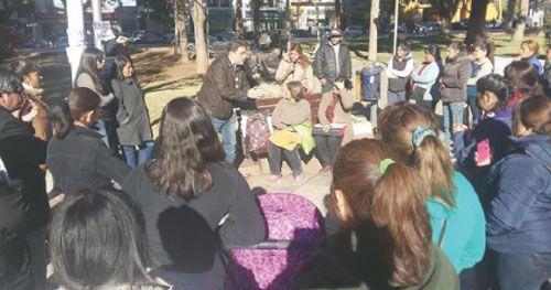 Persiste el reclamo de PIL de los Municipales de Chilecito