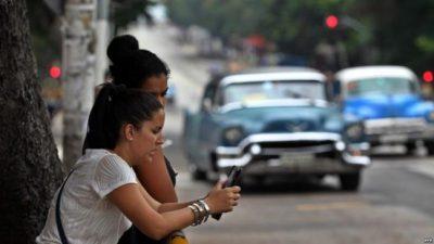 Internet avanza de a poco en La Habana