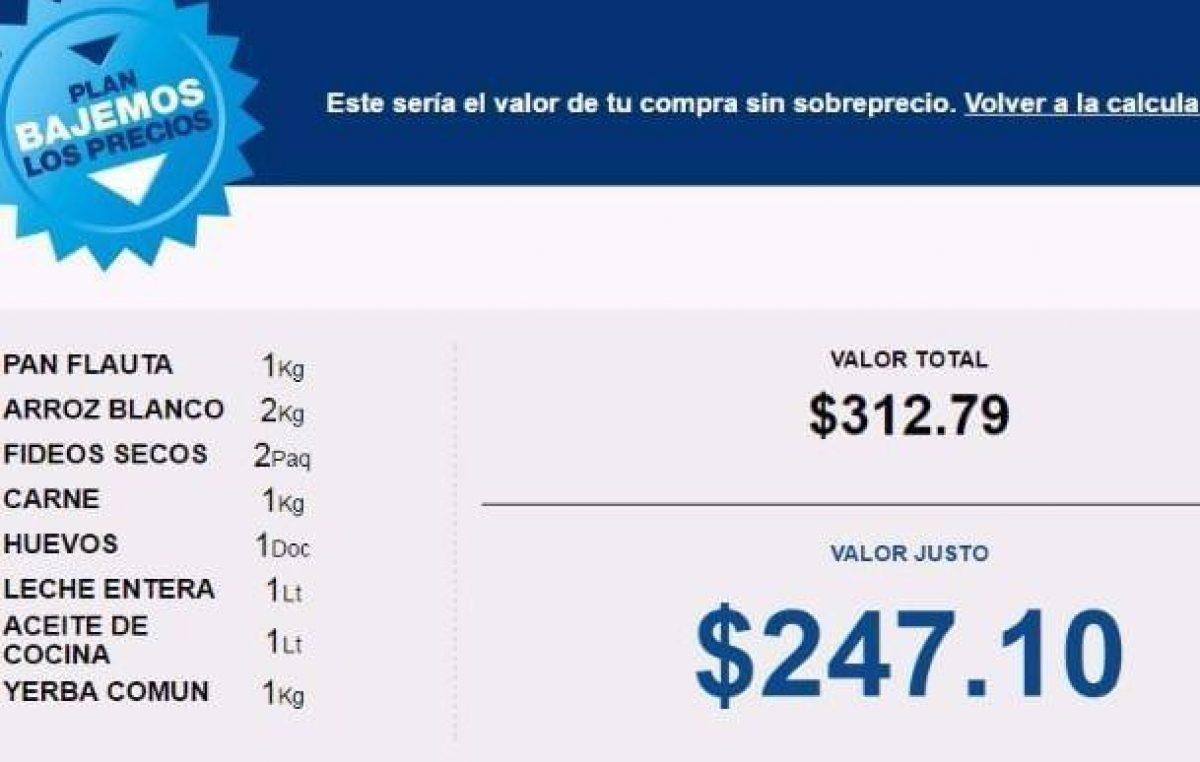 """Una aplicación indica el precio """"real"""" de los alimentos"""