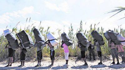 """Con la intervención del obispo de Orán, """"bagayeros"""" llegaron a un principio de acuerdo"""