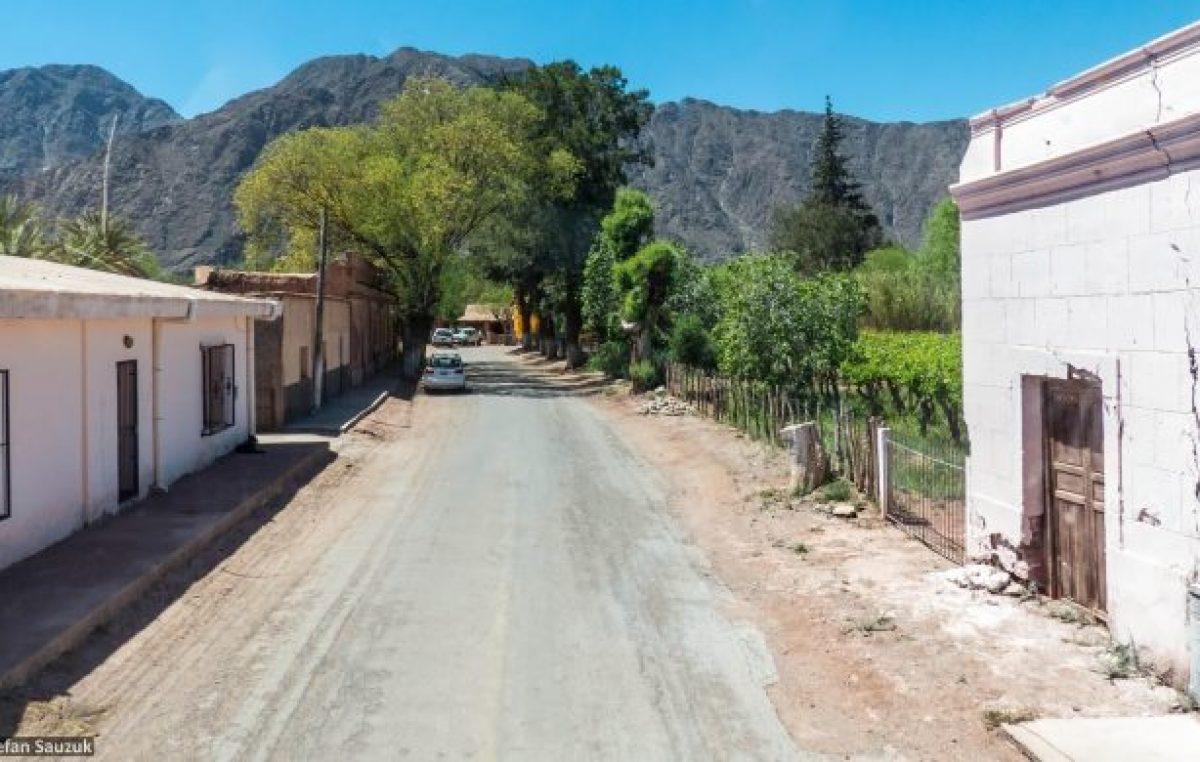 Pavimentarán 60 cuadras en Tinogasta