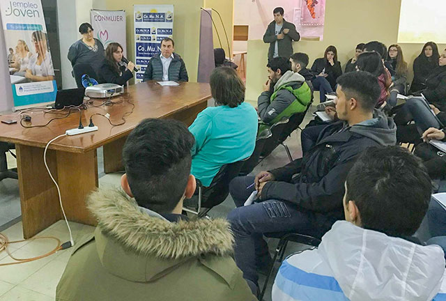 Presentaron los cursos de la Oficina de Empleo en Río Gallegos