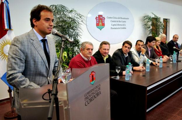 """El intendente de Río Cuarto municipalizará la elección:""""Defenderé la gestión"""""""