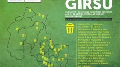 Municipios y comisiones municipales de Jujuy fortalecen sus capacidades en GIRSU