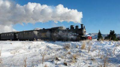 La paleta del invierno en la Comarca Andina