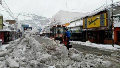 La nieve afecta a gran parte de la Patagonia