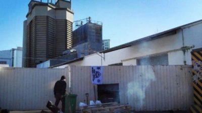 Mar del Plata: Más de 60 trabajadores resisten el cierre de una harinera