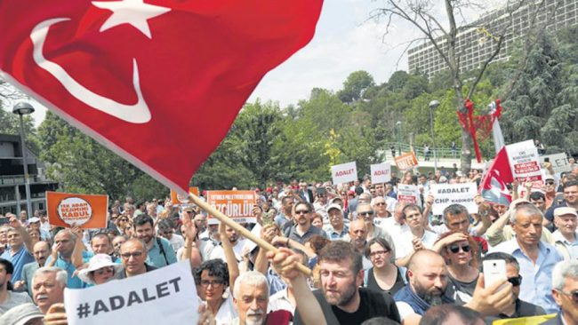 Marcha opositora turca