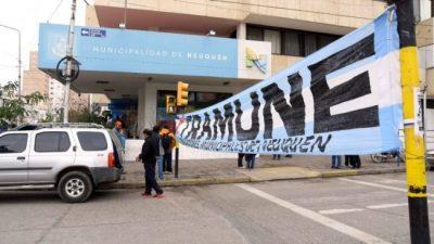 El intendente y la Provincia de Neuquén cruzaron acusaciones por una calle cortada