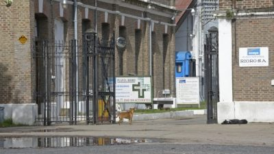 Los talleres ferroviarios de Pérez continúan en agonía