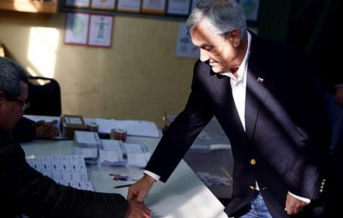 Piñera ganó en Chile y será candidato a presidente