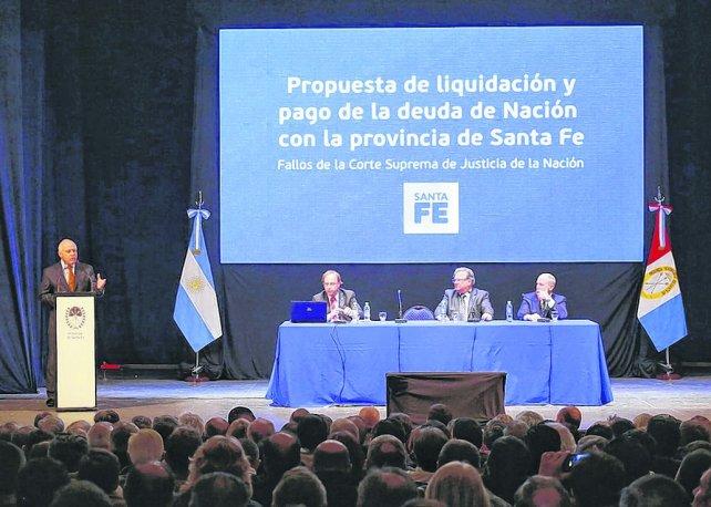 Lifschitz sumó apoyo político por la deuda de la Nación con Santa Fe