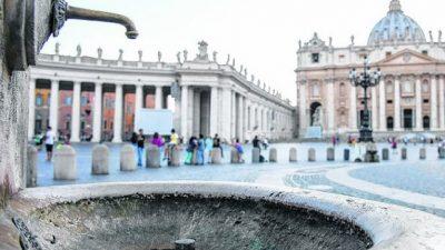 Desastre ecológico: Roma afronta un posible racionamiento de agua por la sequía