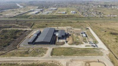 Inauguran en Villa G. Gálvez el centro de gestión de residuos sólidos urbanos