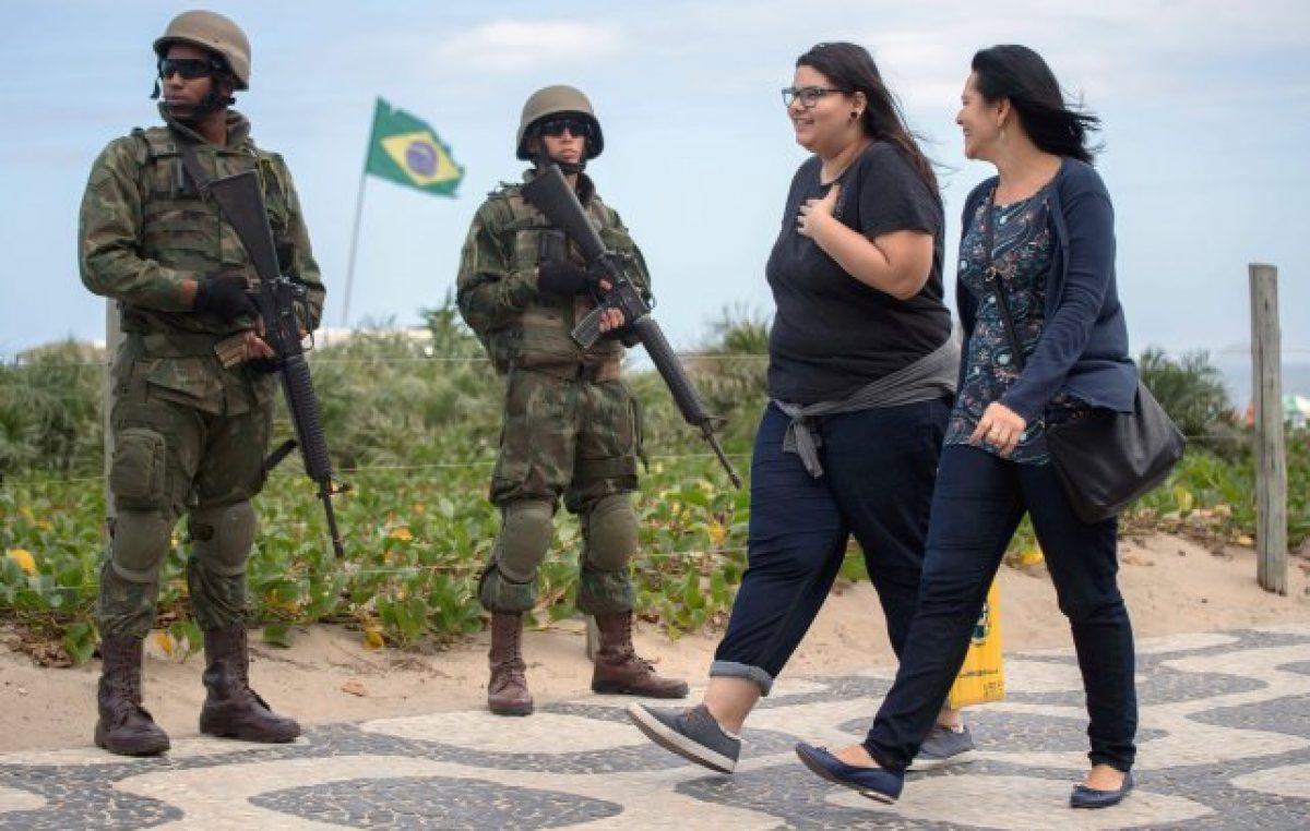 Brasil militariza Río de Janeiro para frenar la violencia
