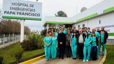 El intendente de Hurlingham transformó el ex upa 24 hs, en el hospital municipal Papa Francisco