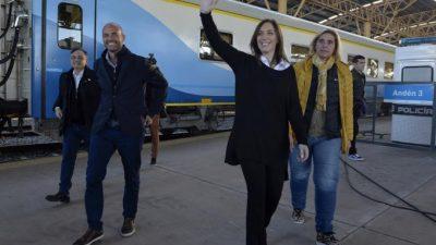 La vuelta del tren a Mar del Plata y un show electoral de Cambiemos que dejó heridos