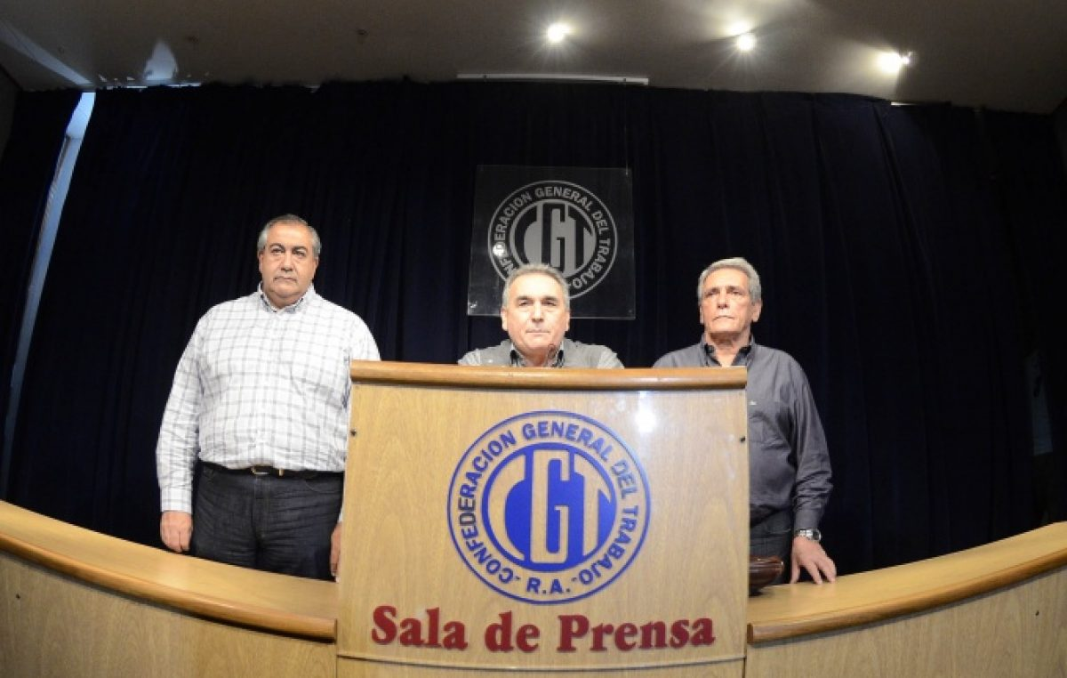 Sin apuro: la CGT convocó a una movilización sin paro para después de las elecciones primarias