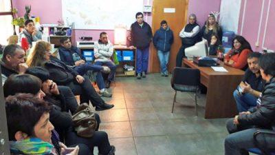 Trabajadores municipales de la Terminal de Bariloche continuarán con las medidas de fuerza