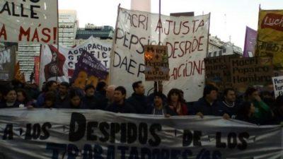Contra los despidos y la represión