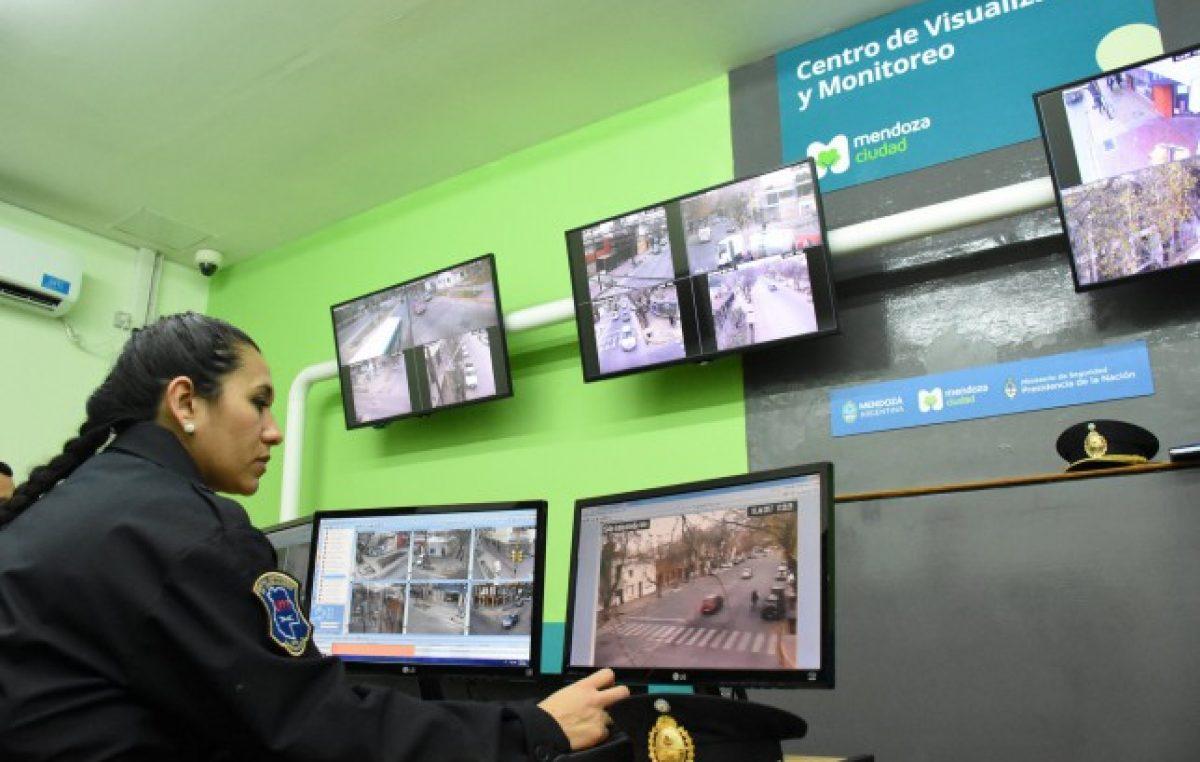 Mendozacuenta con 456 cámaras de seguridad para monitorear la Ciudad