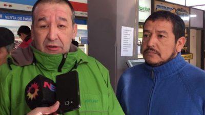 Bariloche: Siguen sin gas en la terminal y el Soyem pide condiciones dignas para turistas y trabajadores