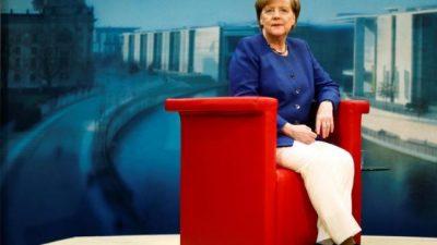 Con amplio margen, Merkel se posiciona para retener el poder