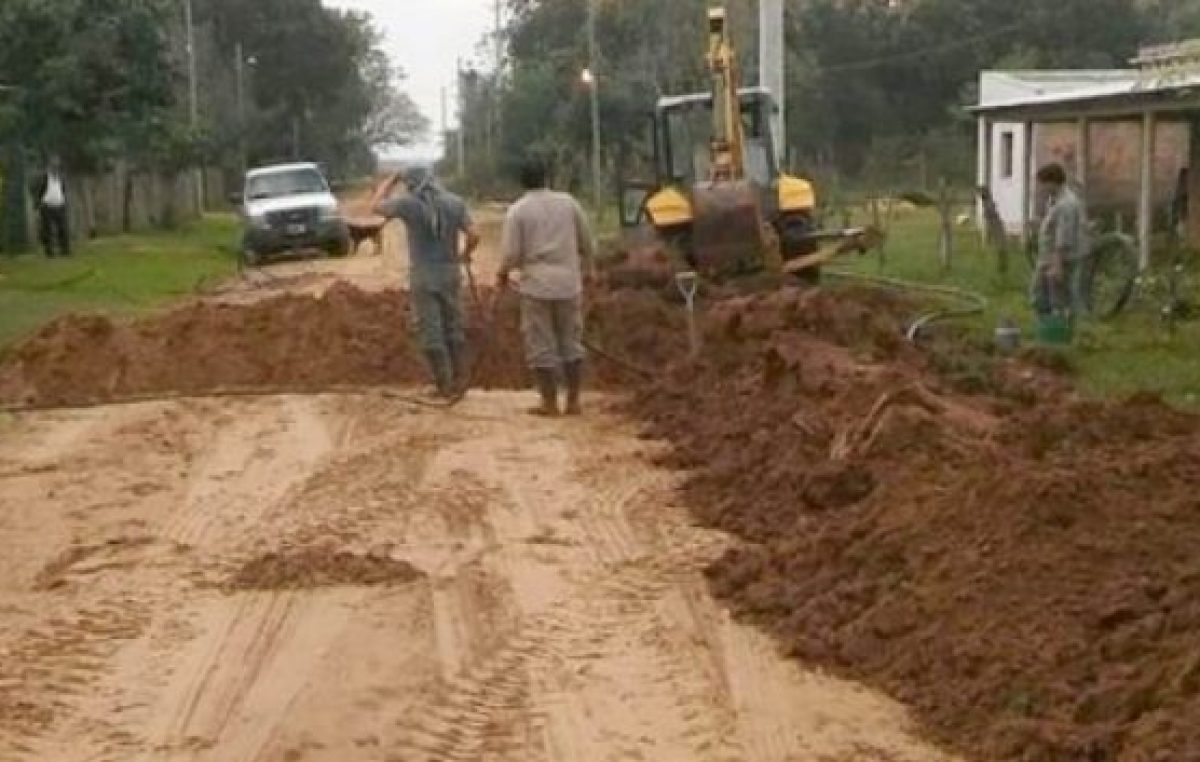Avanzan las obras del Plan Aguas en múltiples comunas correntinas