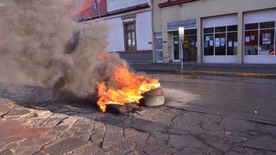 Río Gallegos:SOEM se mostró sorprendido por la quema de cubiertas