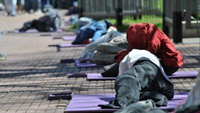 Crece 20% el número de personas en situación de calle en Buenos Aires