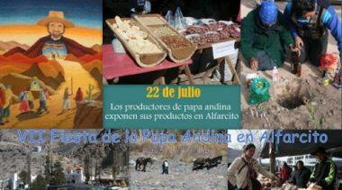 Fiesta de la Papa Andina en Alfarcito, 22 de julio