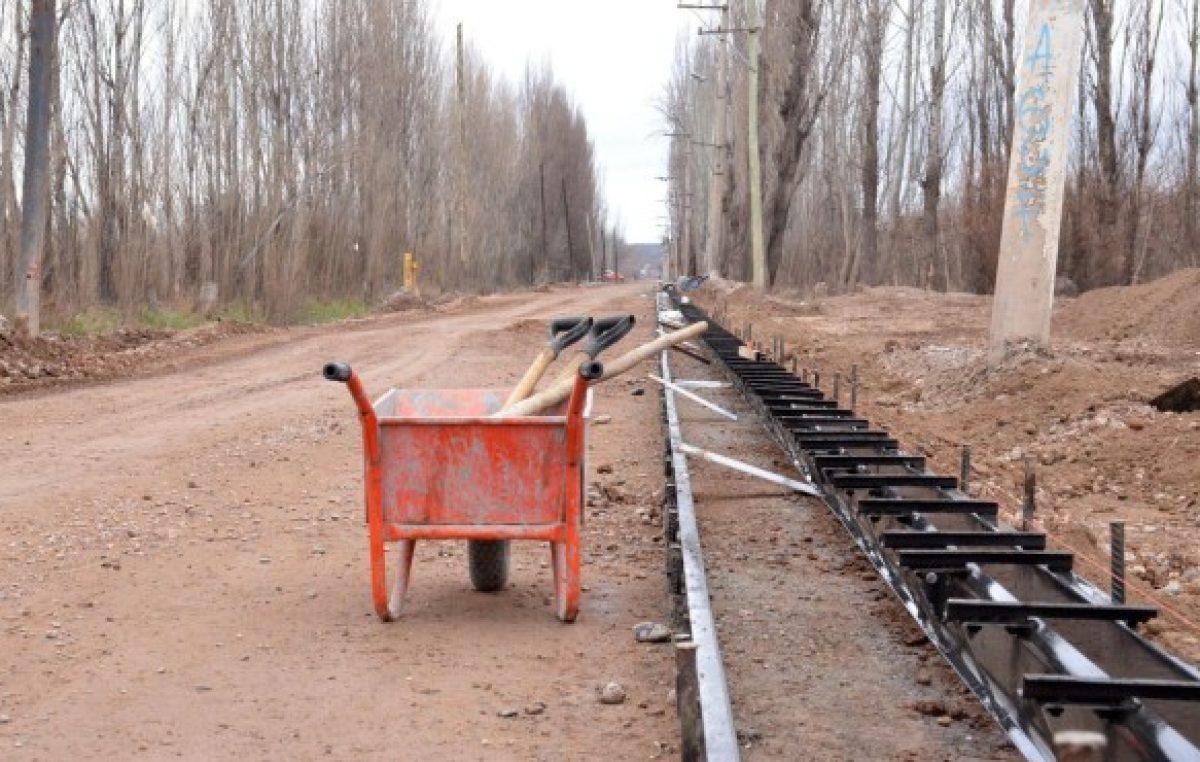 Cipolletti: La obra pública no logra remontar