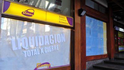 """Bariloche: Los cierres de comercios superan a las """"altas"""""""