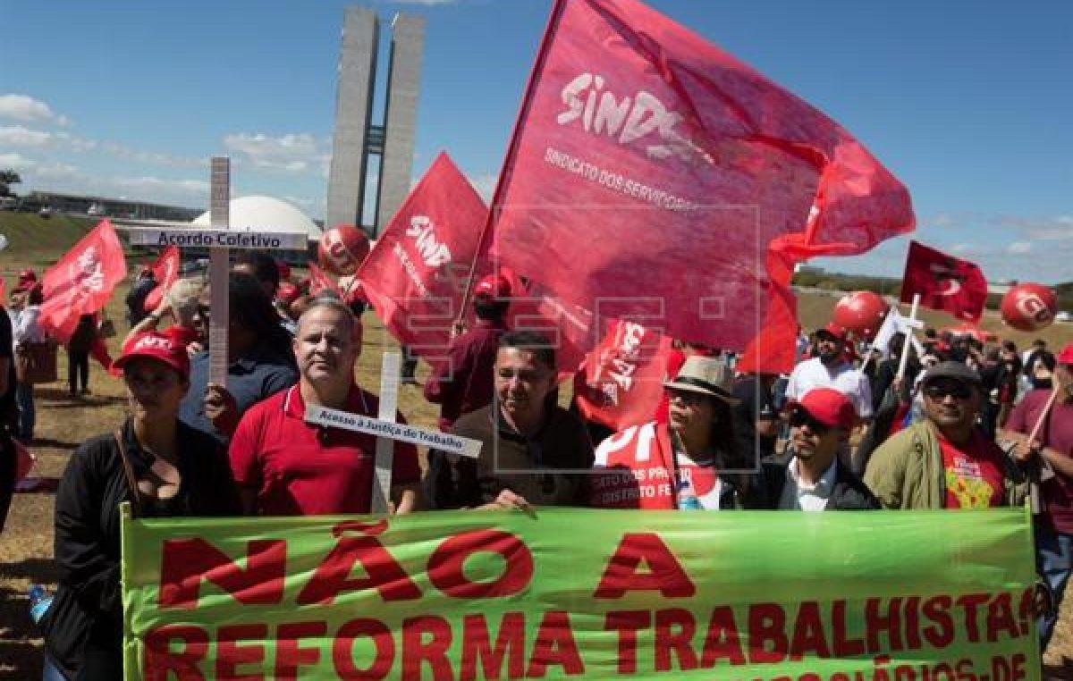 Brasil enterró los derechos laborales