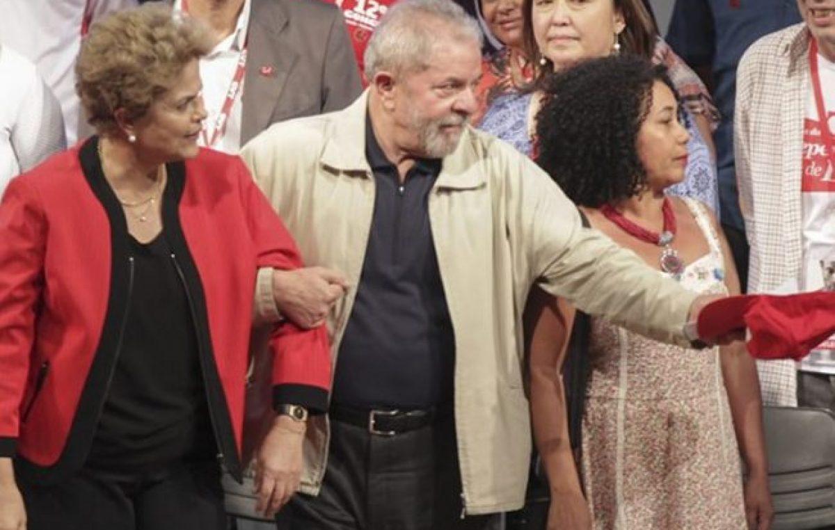 """Dilma: """"Lula es inocente y el pueblo lo rescatará"""""""