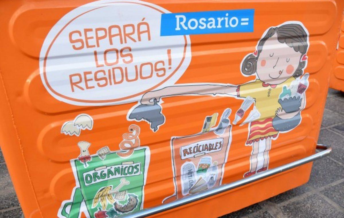 Construirán en Rosario una planta para tratar residuos reciclables
