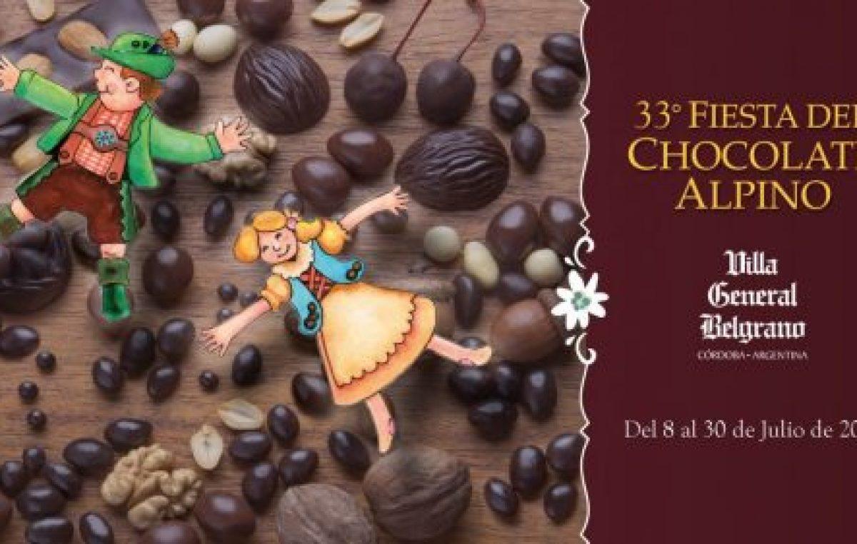 Fiesta del Chocolate Alpino en Villa General Belgrano, a partir del 8 de julio