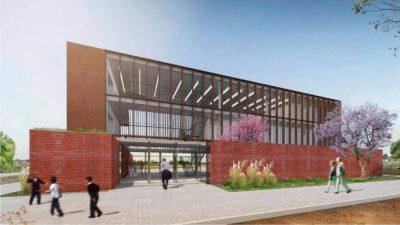Avanza la construcción del edificio de Escuelas de Trabajo enSanta Fe