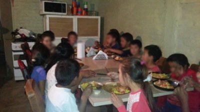 """Hilda, la """"mamá"""" que le da de comer a 250 niños en San Rafael"""