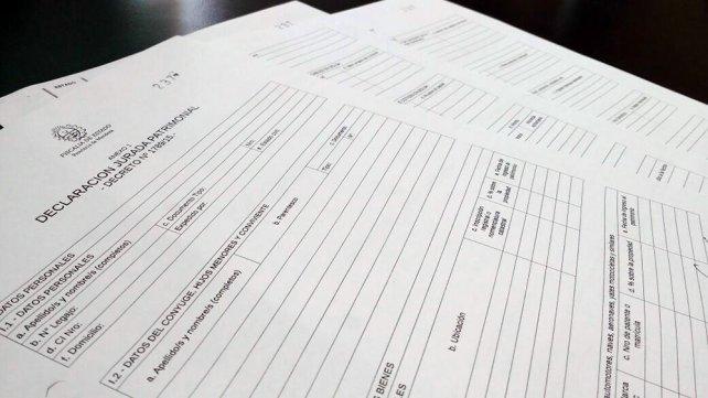 Más de 200 funcionariosmendocinos todavía deben presentar su declaración jurada