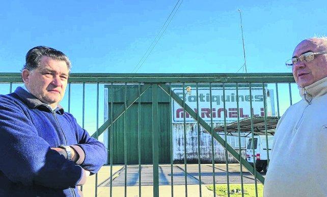 Venado Tuerto: empleados de una fábrica hallaron la planta cerrada