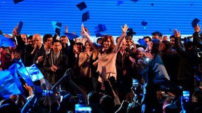 Cristina Kirchner se impuso en las PASO de Buenos Aires por 0,4%