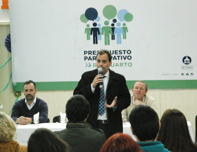 Presupuesto Participativo en Río Cuarto: en el 2018 alcanzará los $ 37 millones