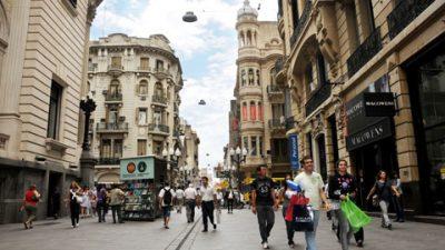 Los centros comerciales a cielo abiertode Rosario tendrán luminarias LED