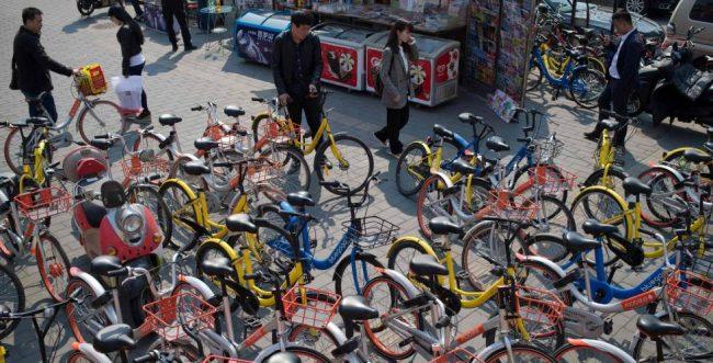 China, una nación inundada por las bicicletas