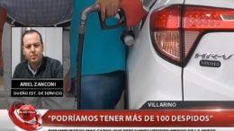 """En Villarino dicen que """"es imposible competir"""" con los bajos precios de la nafta de la zona patagónica"""