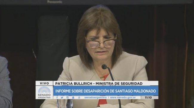 Se cae otra mentira: la prueba que desmiente a Bullrich sobre la desaparición de Santiago