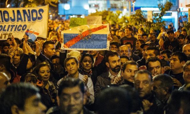 "La Rioja: El paredismo marchó bajo consigna ""respeto a la autonomía municipal"""